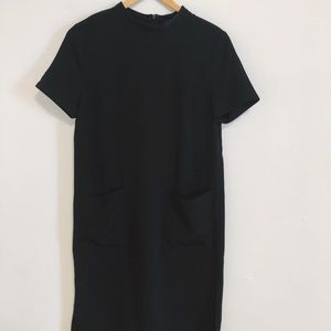 FOREVER21 black pocket dress